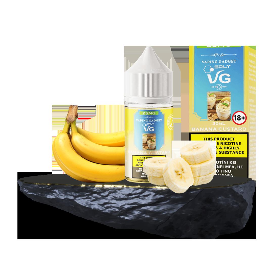 VG Salt - Banana Custard 25MG
