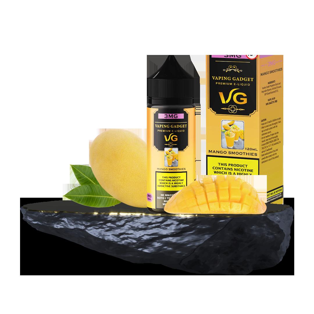Vaping Gadget 120ml - Mango Smoothies 3MG