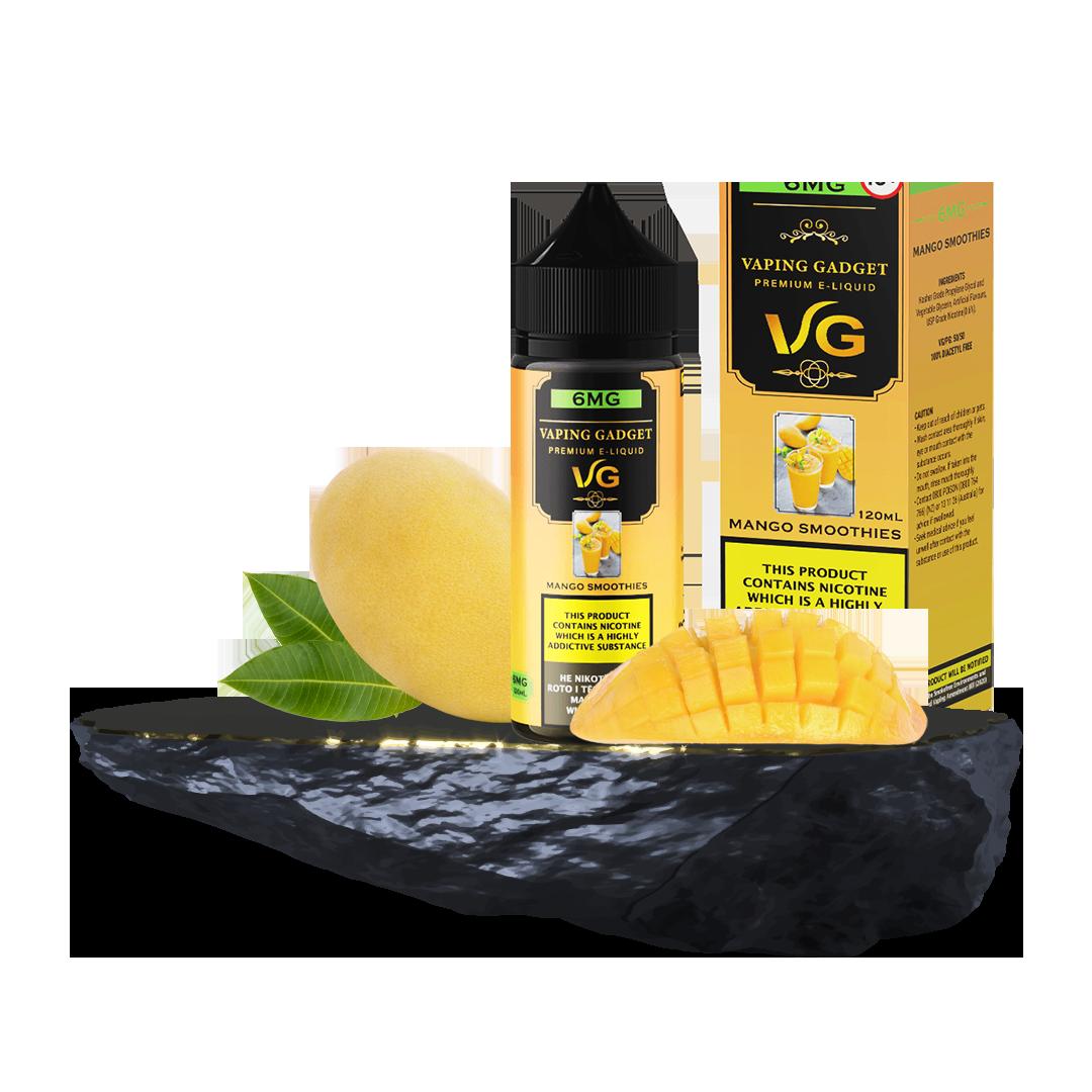 Vaping Gadget 120ml - Mango Smoothies 6MG